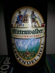 A quintessential German Helles Beer. Drinking it takes me back to traveelling through Germany. It is well balanced and at 4.9% it is easy to drink. Perfect for a day in the sun.